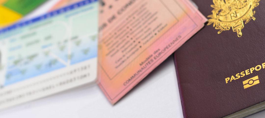 Démarches liées aux papiers d'identité